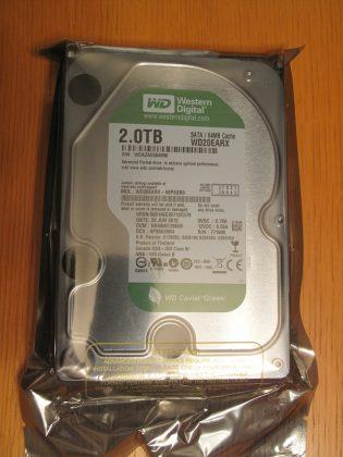 Western Digital HDD WD20EARX