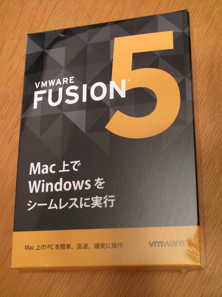 VMware Fusion 5 パッケージ