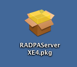 PAServerをMacにコピー