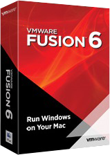 VMware Fusion 6 パッケージ写真