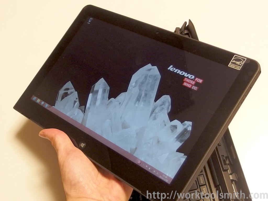 ThinkPad Helix 分離