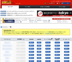 お名前.comの表示