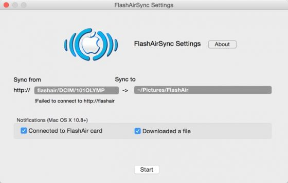 FlashAirSync_Settings