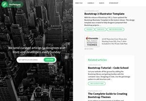 Bootstrap 3 Illustrator Template   HeyDesigner
