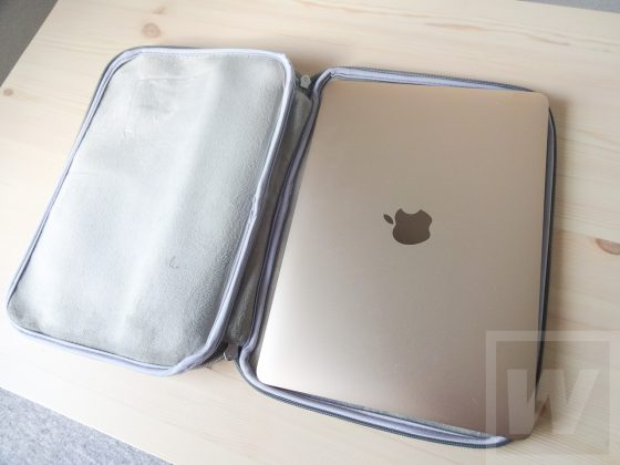 Inateck LB1200 MacBookケース Review 018
