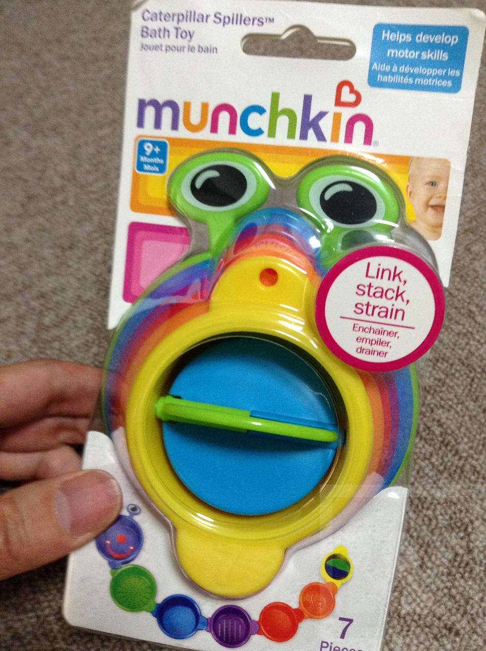 MUNCHKIN(マンチキン) キャタピラー スピラー Review 001