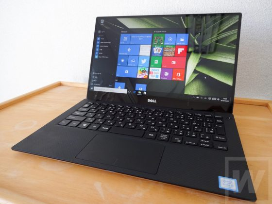 DELL XPS 13 ゴールド Review 001