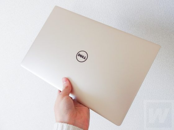 DELL XPS 13 ゴールド Review 026