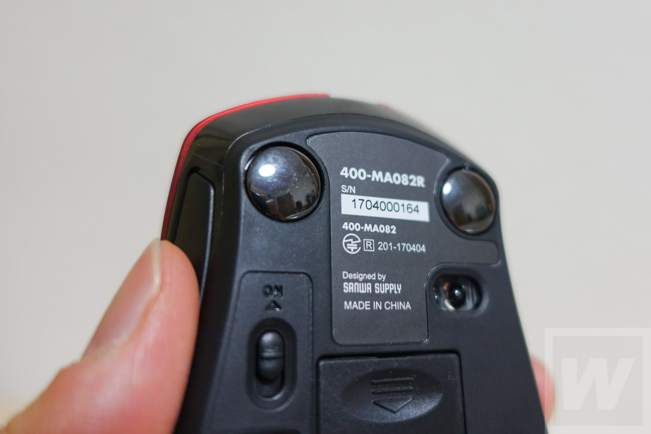 SANWA 400-MA082 Mouse Review-06