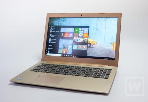 おしゃれなゴールドで満足感が高い!パソコンとしての機能も十分なLenovo Ideapad 520レビュー